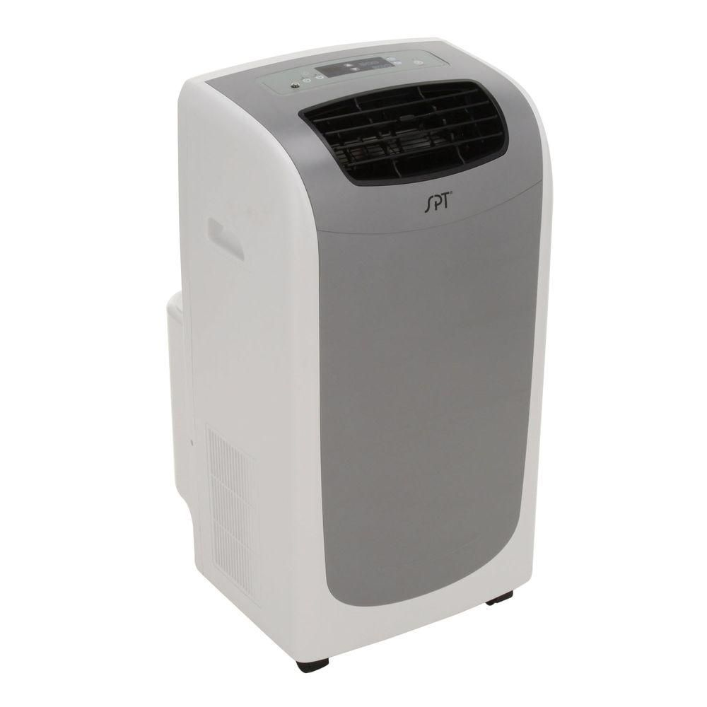 Spt 13 000 Btu Portable Air Conditioner Dual Hose System In Grey