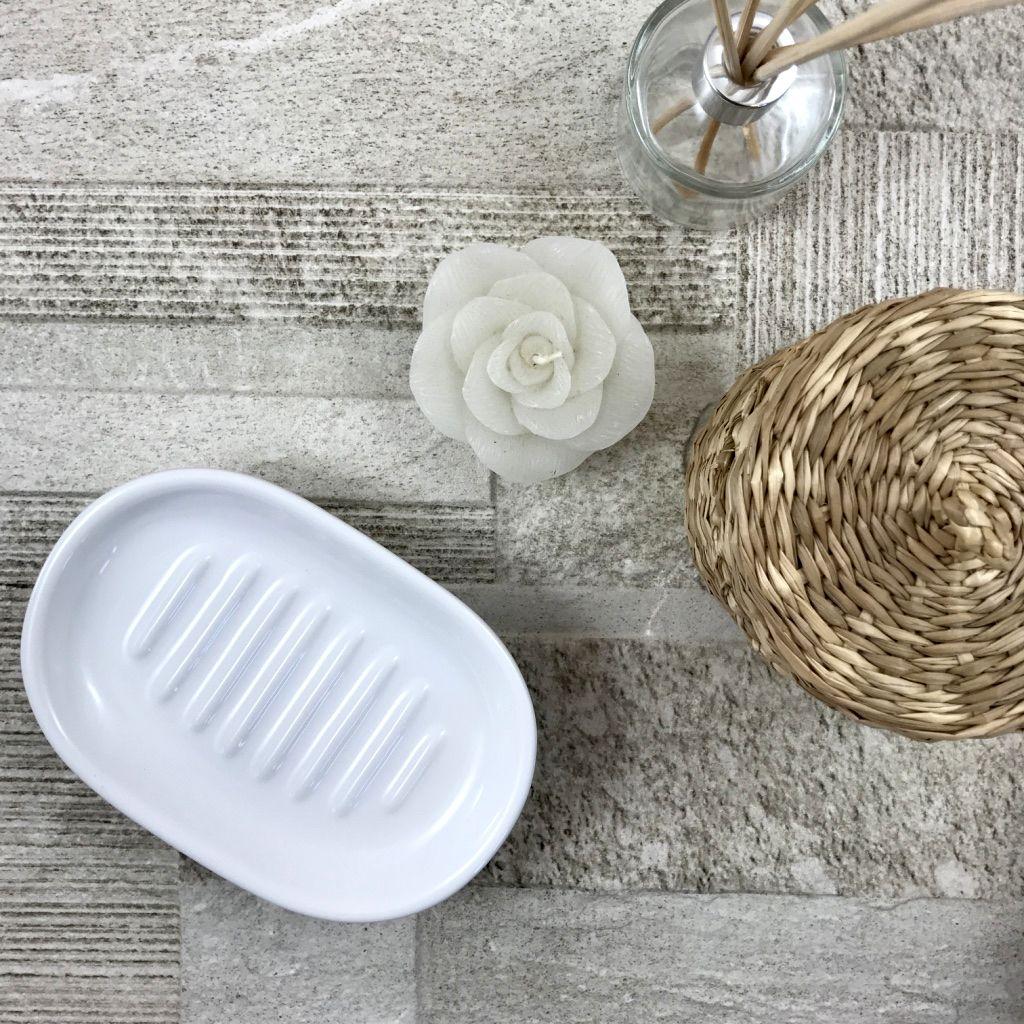 Accessori Bagno In Ceramica Bianca.Piatto Porta Sapone In Ceramica Bianca Per Arredo Bagno Accessori Bagno Ricambio Soap Dish For Bath Bagno Artigianale Ceramica Arredamento Bagno
