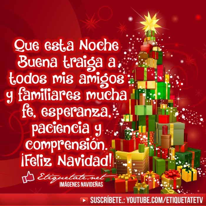 Frases cortos de Navidad para felicitar en Noche Buena