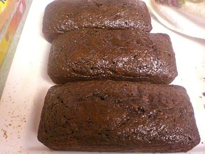 Chocolate chip, sour cream, banana bread