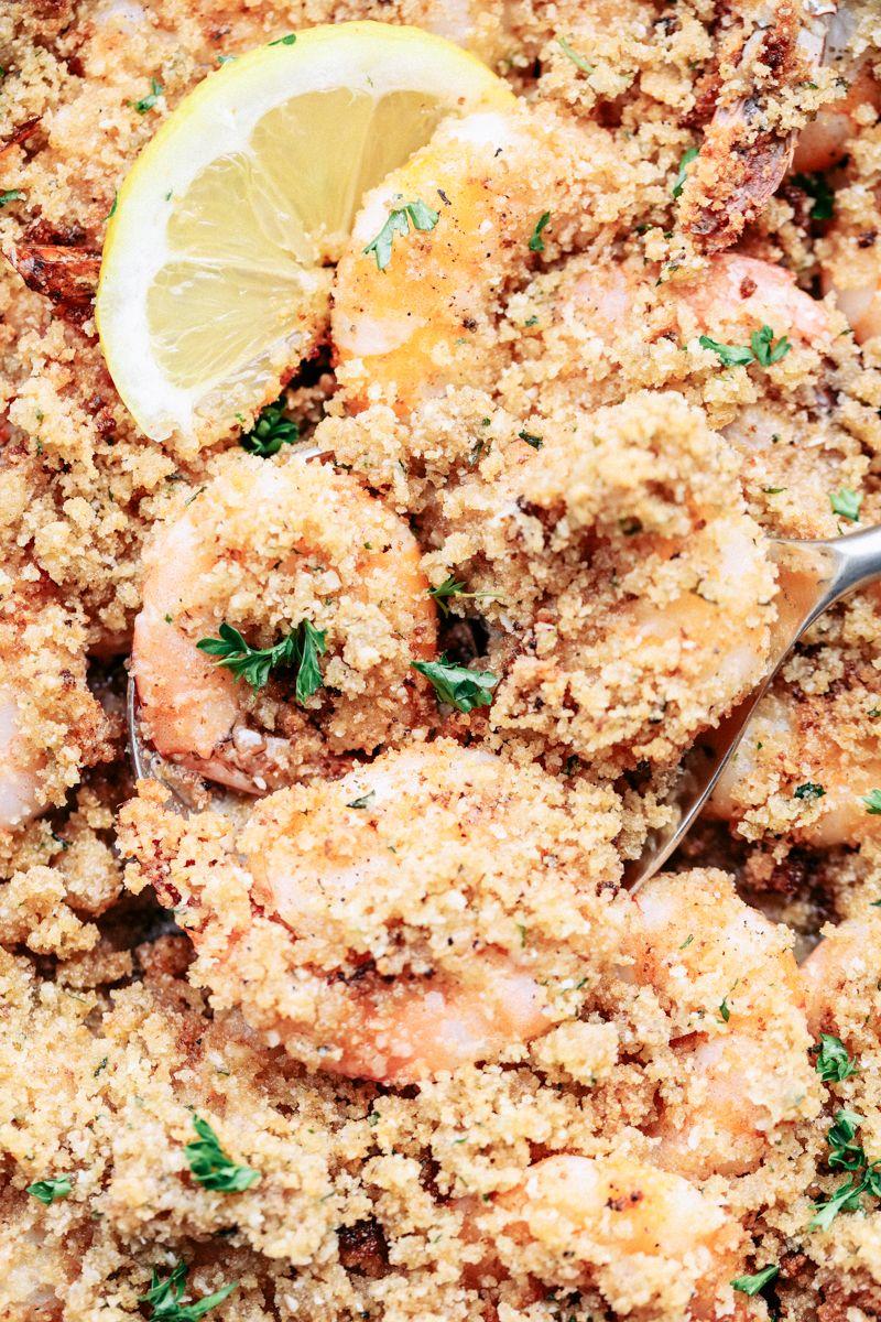 Crunchy Baked Parmesan Garlic Shrimp 3 | Garlic shrimp
