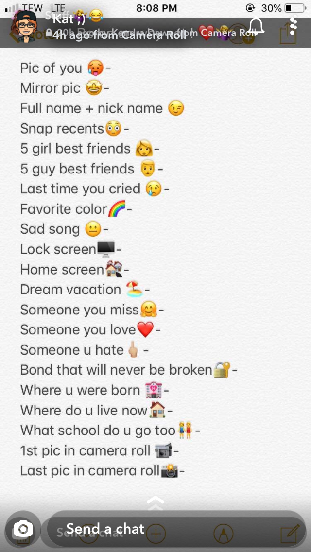 Snapchat  #snapchatquestiongame #snapchatquestiongame Snapchat  #snapchatquestiongame #snapchatquestiongame
