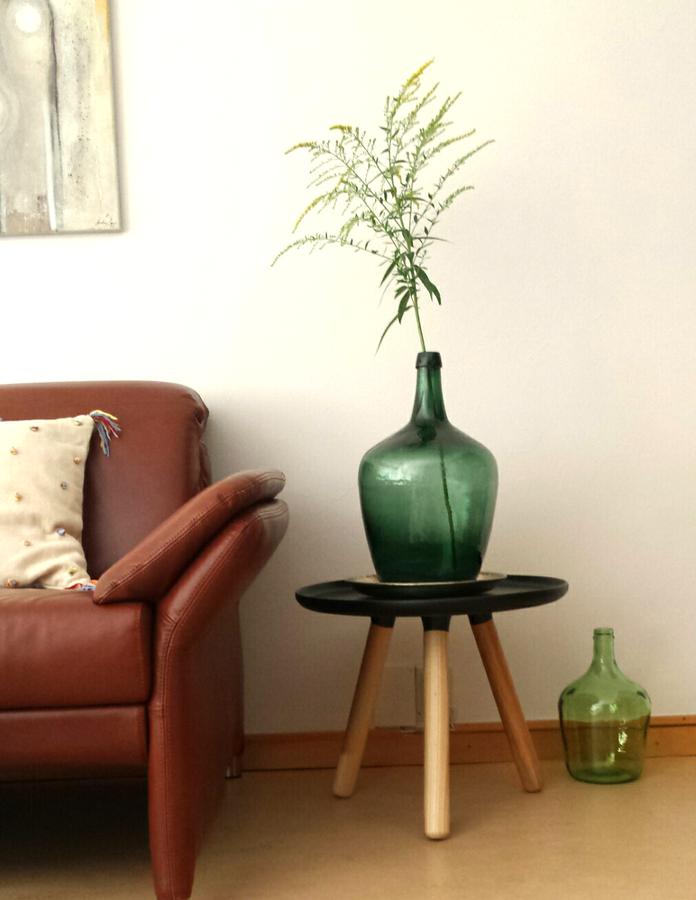 Grüne Flaschen Inspiration Tapeten Wohnzimmer Grüne Vase Und Deko