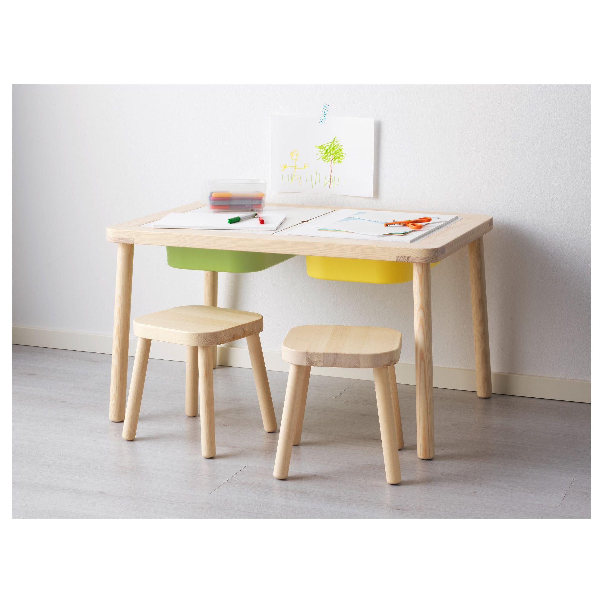 Ikea Kids Table And Chairs Desk Chair Design Flisat Children S 83 X 58 Cm Big Boy Room Ideas Playroom 83x58