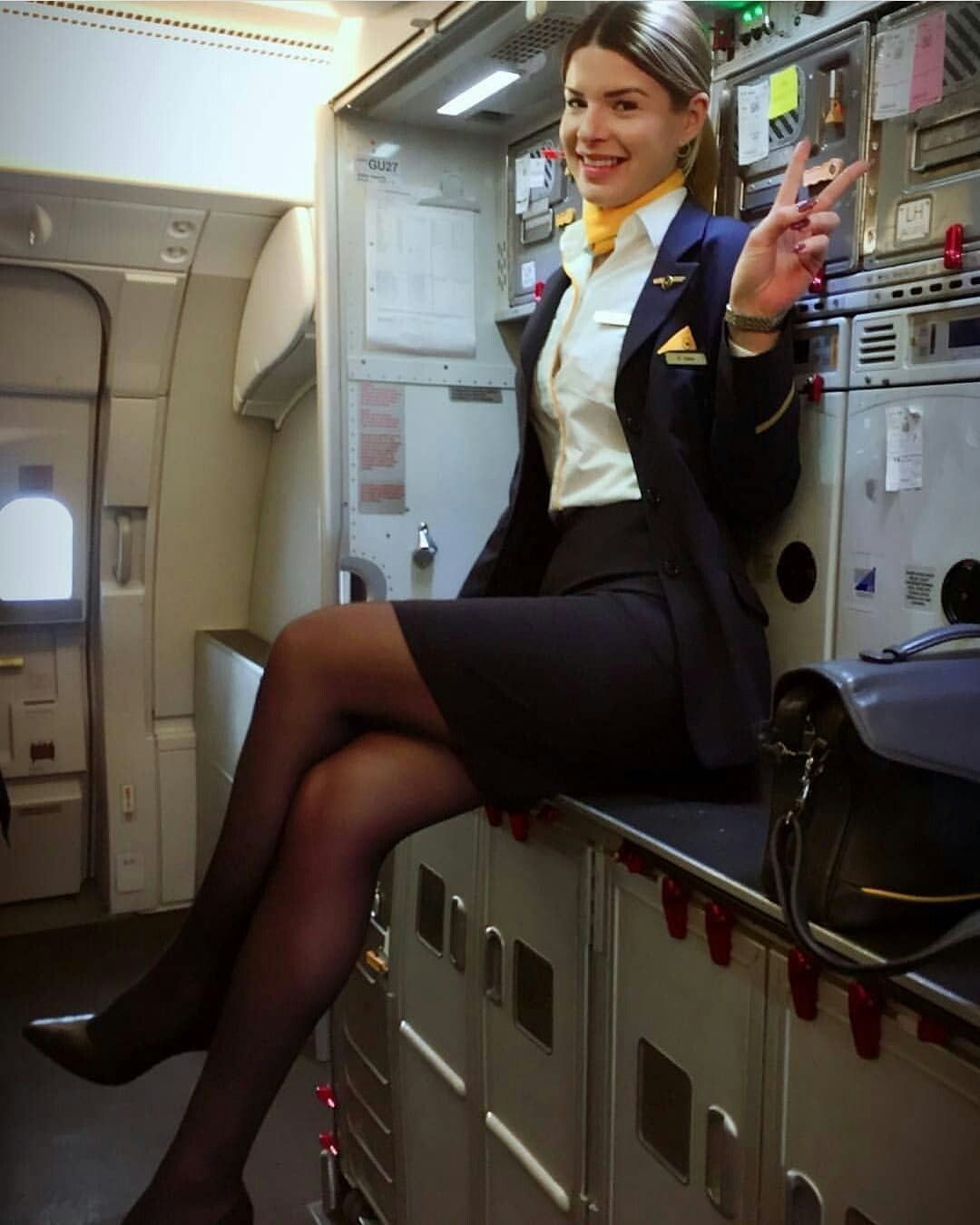 14223f43ff61b Pin by Amy on Pantyhose and Tights | Flight attendant, Delta flight ...