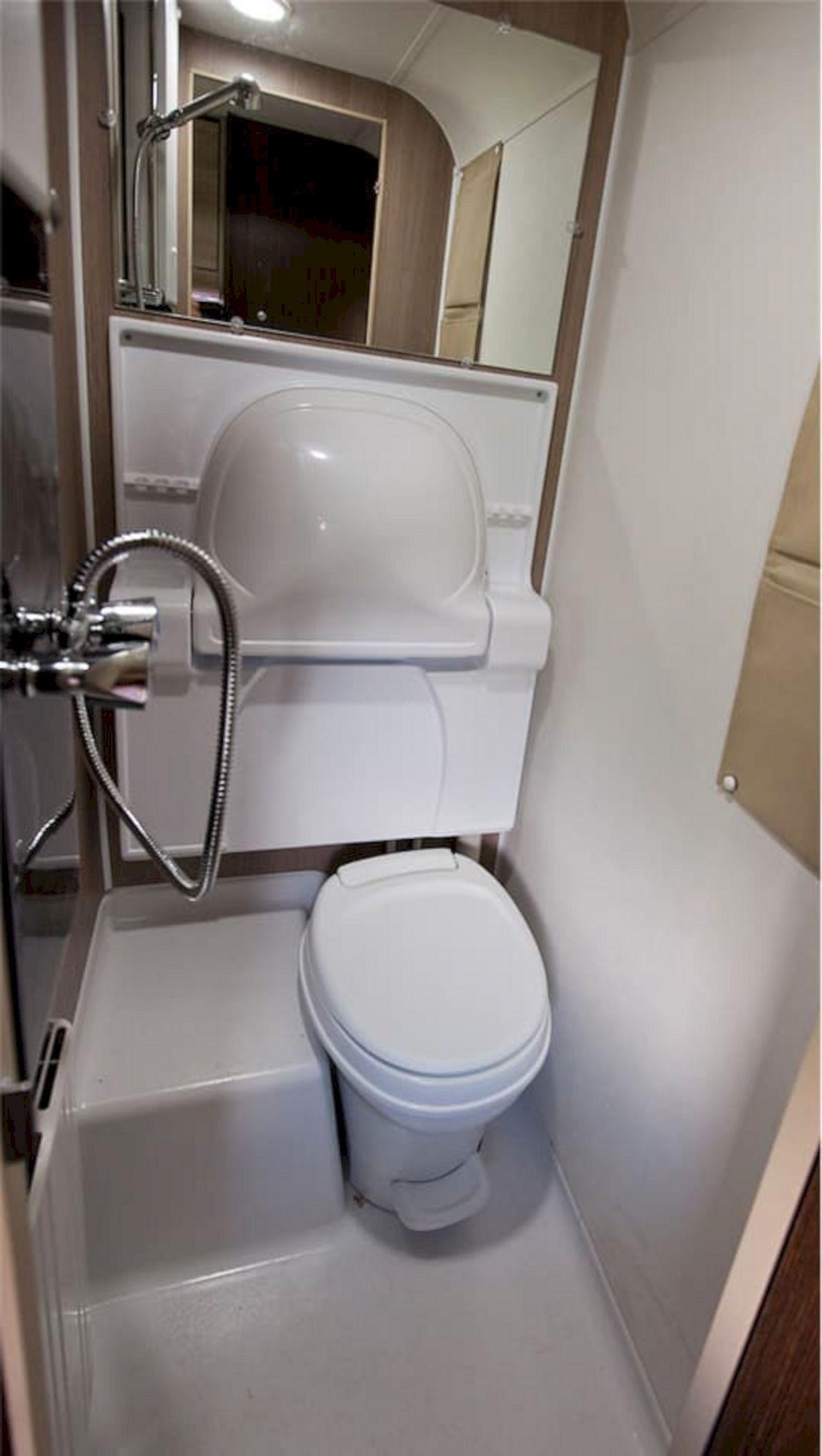 RV Bathroom Shower 024 Rv bathroom, Camping shower