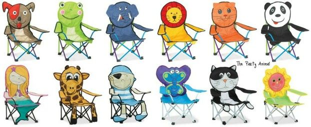 12 Adorable Folding Beach Chairs For Kids