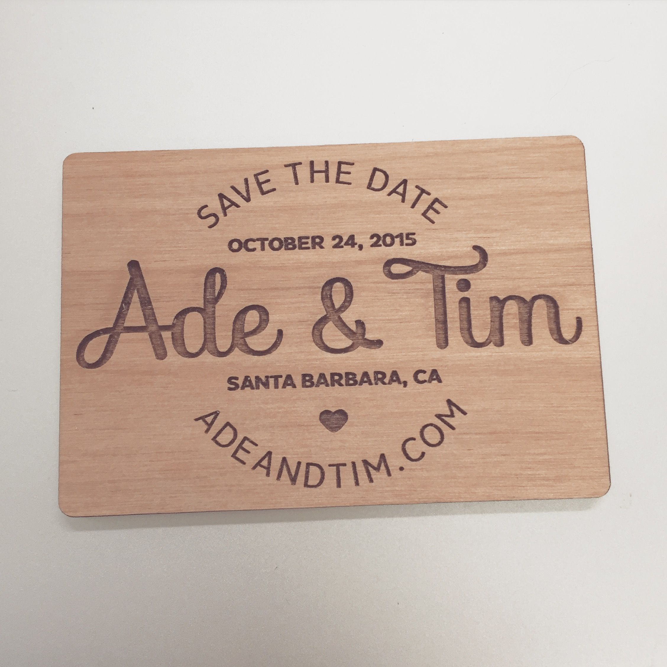 Cute Simple Save the Date wedding savethedate