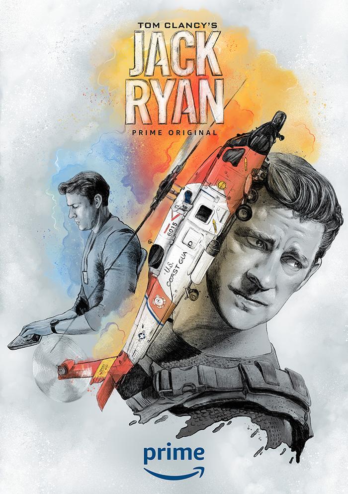Jack Ryan Alternate Movie Poster The Commas Artwork Alternative Movie Posters Movie Posters