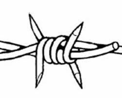 Image result for barbed wire drawing | Art | Pinterest | Wire drawing