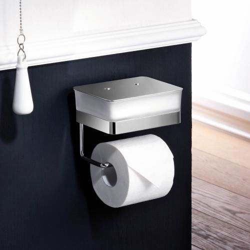 Giese Toilet Duo For Wet Wipes With Toilet Roll Holder Toilet Roll Holder Toilet Design Bathroom Wipes