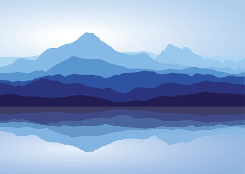 Mountains Stock Photos Pictures Royalty Free Images Mountain Illustration Landscape Illustration Mountain Paintings