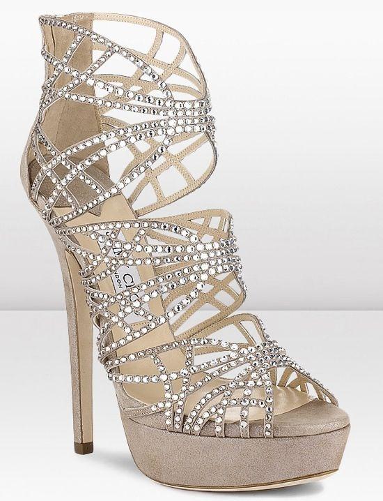 Wedding shoes, Heels