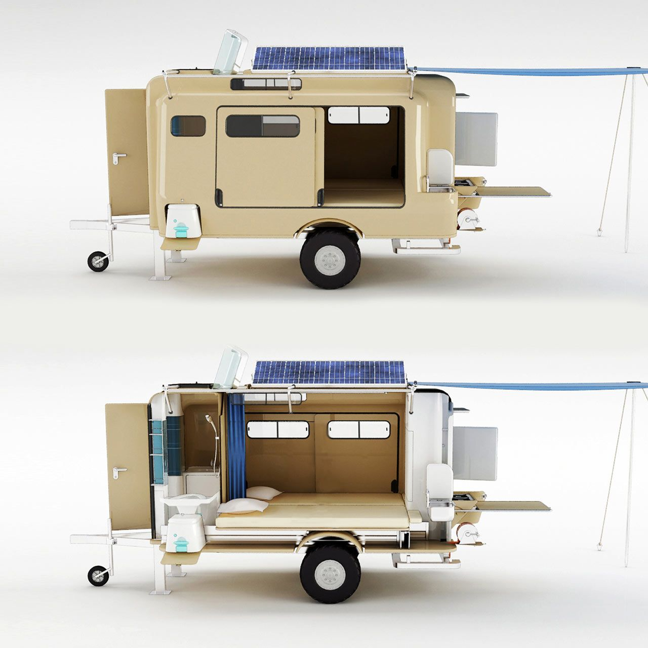 A' Design Awards 2016 Call for Entries Camper trailers