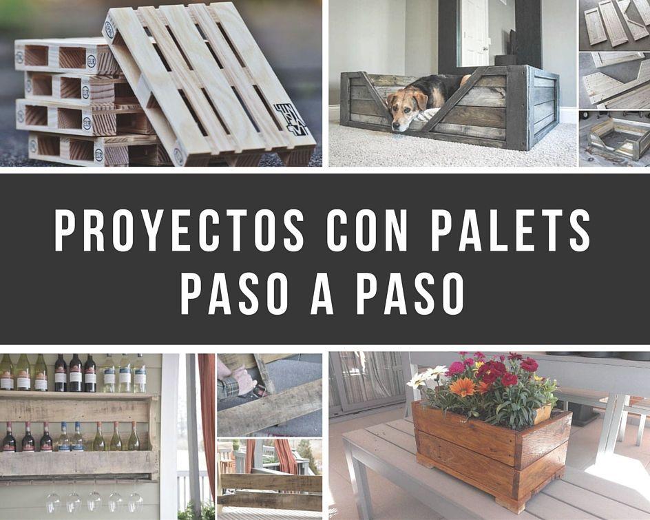 11 proyectos con palets paso a paso | Revisteros, Palets y Zapateras
