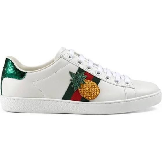 Gucci Ace Embroidered Sneakers as seen on Kourtney Kardashian