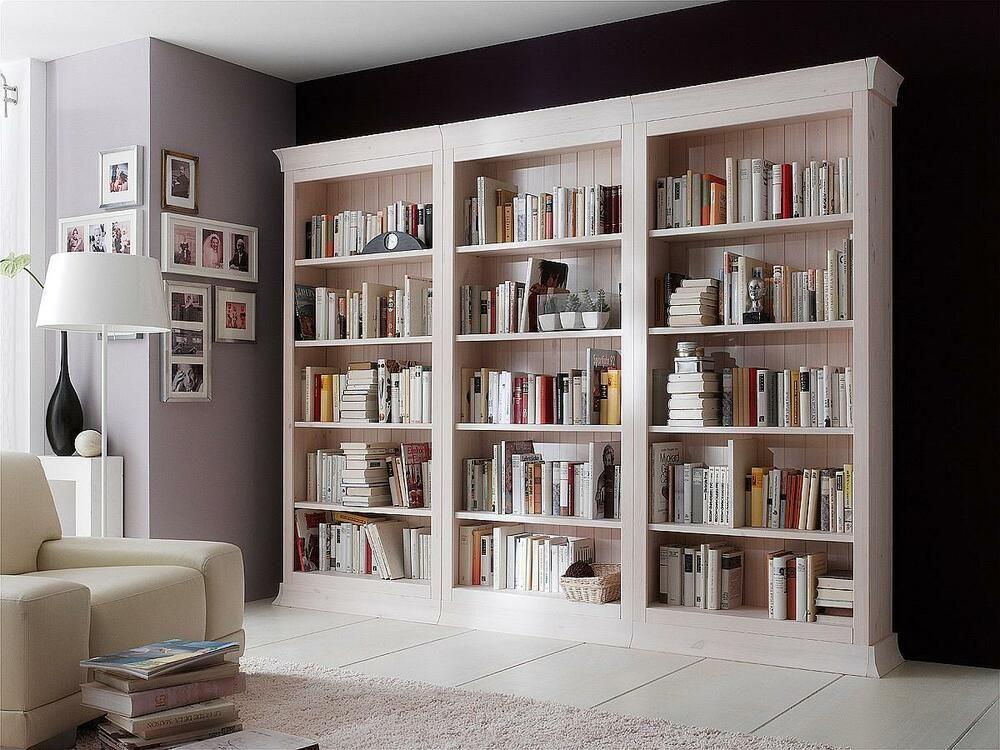 Finden Sie Top Angebote Fur Bibliothek Kiefer Massiv Weiss Landhausstil Boston Regalsystem Regal Bucherwand Bei Ebay Wohnzimmerfarbe Schrank Regale Bucherwand