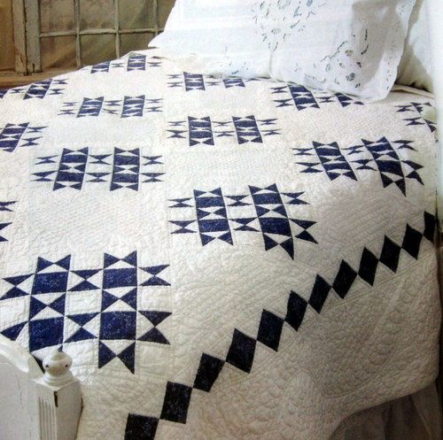 Duty Honor Country Quilt Pattern Ohio Star Variation Block | eBay ... : country star quilt - Adamdwight.com