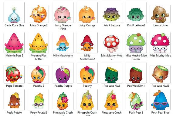 Image result for shopkins characters
