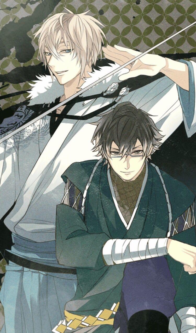 Ikemen Sengoku Kenshin And Sasuke Cool Anime Guys Cute Boy Boys