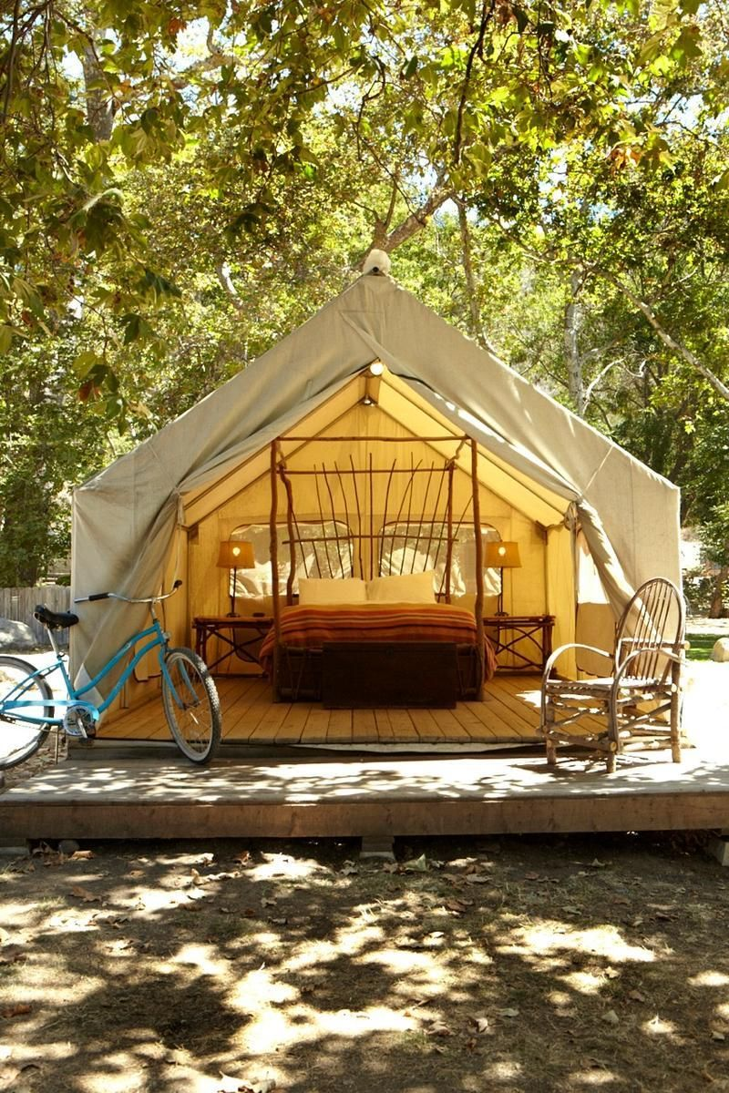 El Capitan Canyon Made Up Of Cabins And Tents It Offers A Rustic But Luxurious Way To Experience The Beach Near Santa Barbara