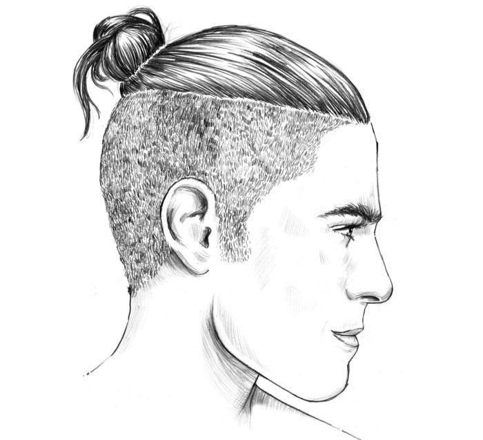 Bildbeispiel Moderne männerfrisuren zopf undercut | Frisuren ...