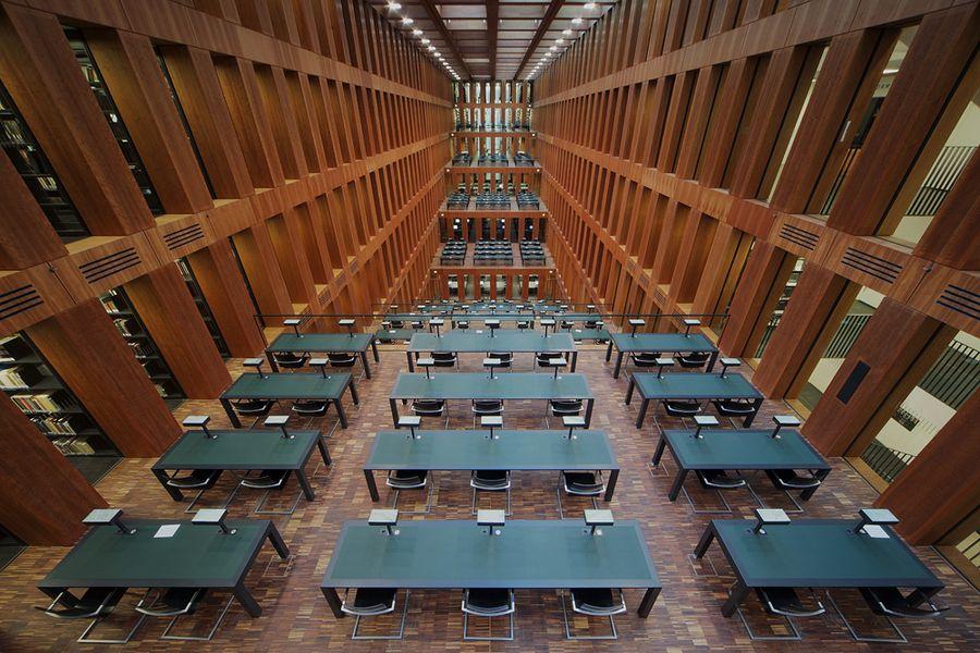 Berlin University Library Germany Lesen Berlin