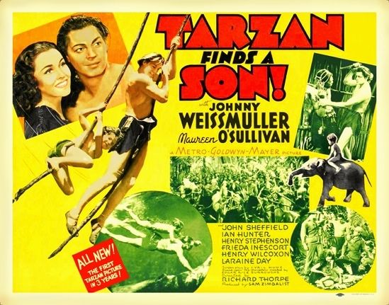 Tarzan Finds A Son 1939 Tarzan Tarzan Movie