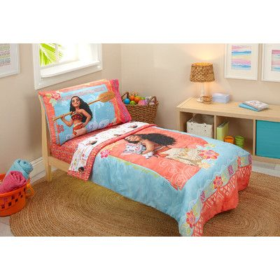Disney Moana 4 Piece Toddler Bedding Set Products