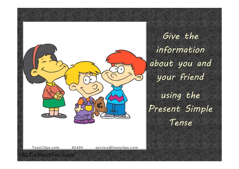 Present Simple Speaking Activity