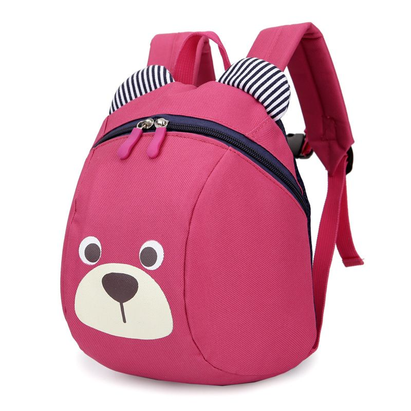 21a9446659e0 Age 1-3 Toddler backpack Anti-lost kids baby bag cute animal dog ...