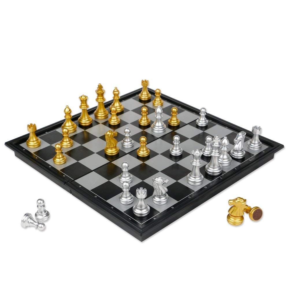 Amazon Magnetic Chess Set Just 6 89 W Code Reg 14 99 As Of