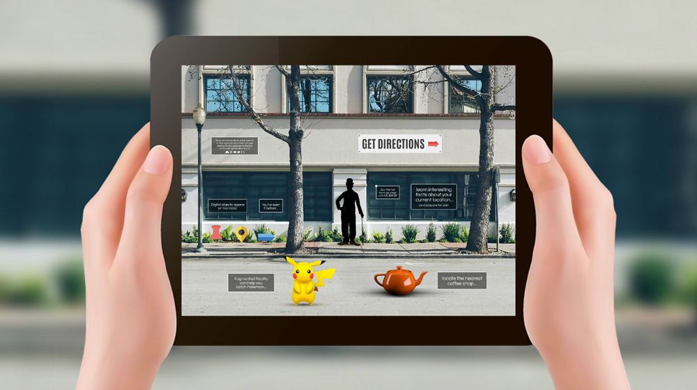 Augmented Reality Technology Pokemon Prezi Template For
