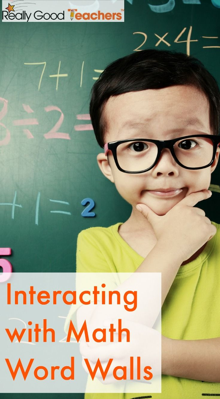 Interacting with Math Word Walls