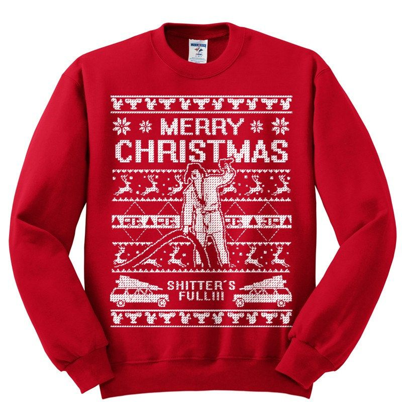 Ugly Christmas Sweater-Shitters Full- Christmas Vacation Cousin ...