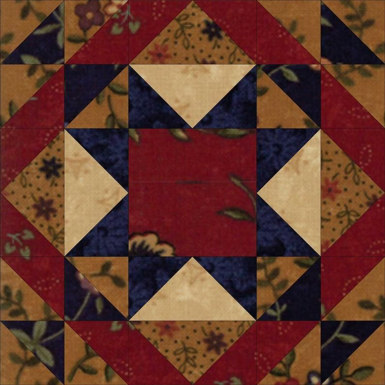 Country Sampler Quilt Pattern Etsy In 2020 Quilt Patterns Quilts Star Quilt Patterns
