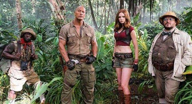 Typpi Ku H Lord On Twitter Welcome To The Jungle Jumanji Movie Karen Gillan