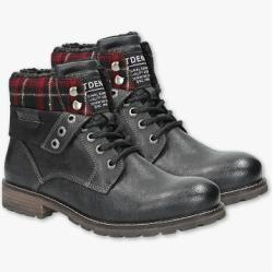 C&A Tom Tailor-Boots-Lederimitat, Braun, Größe: 42 C&A – cute outfits