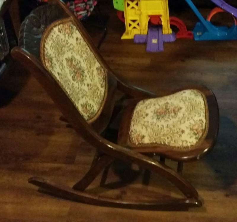 Antique folding (sewing/nursing) rocker for sale - 5miles: Buy and ...