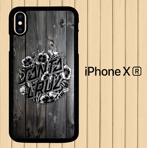 Santa Cruz Wood Wallpaper P1140 Iphone Xr Case
