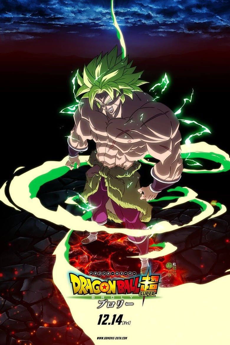 Dragon Ball Super Broly 2018 Dragon Ball Super Broly