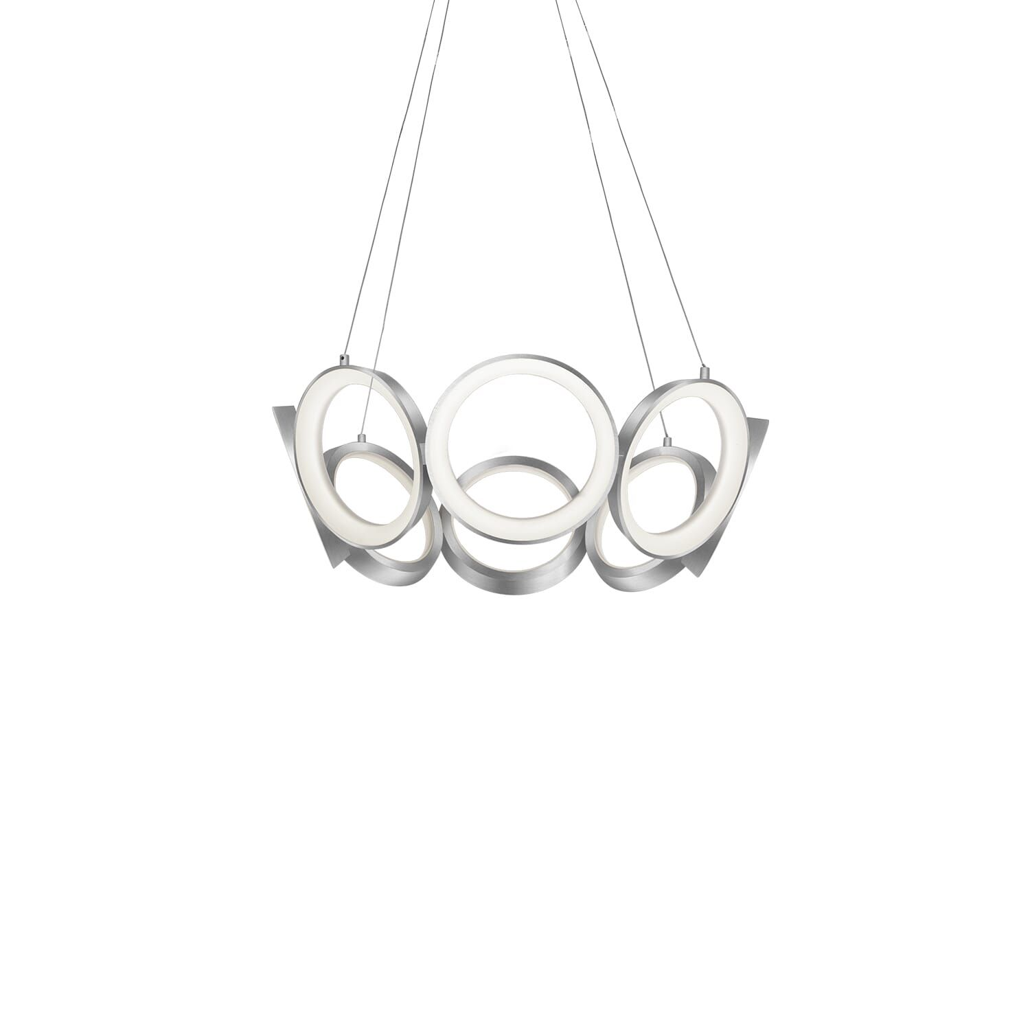 Photo of Kuzco Oros LED Contemporary Chandelier in Brass