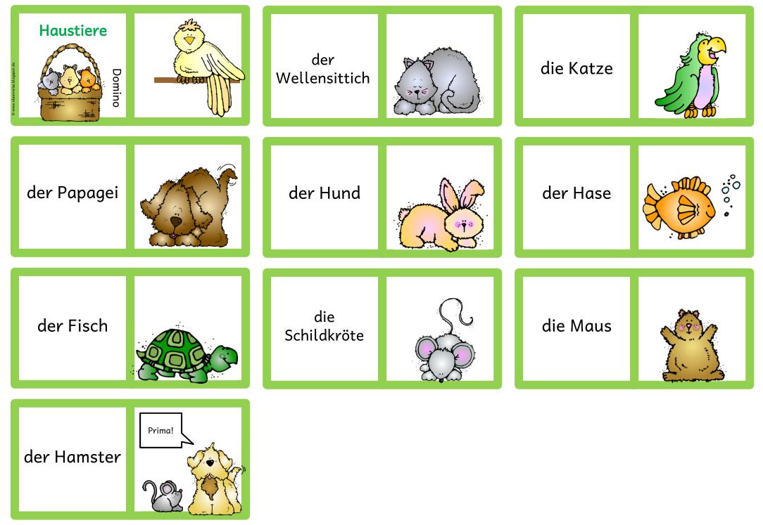 Materialpaket Haustiere Fur Daz Ideenreise Haustiere Kinder Lesen