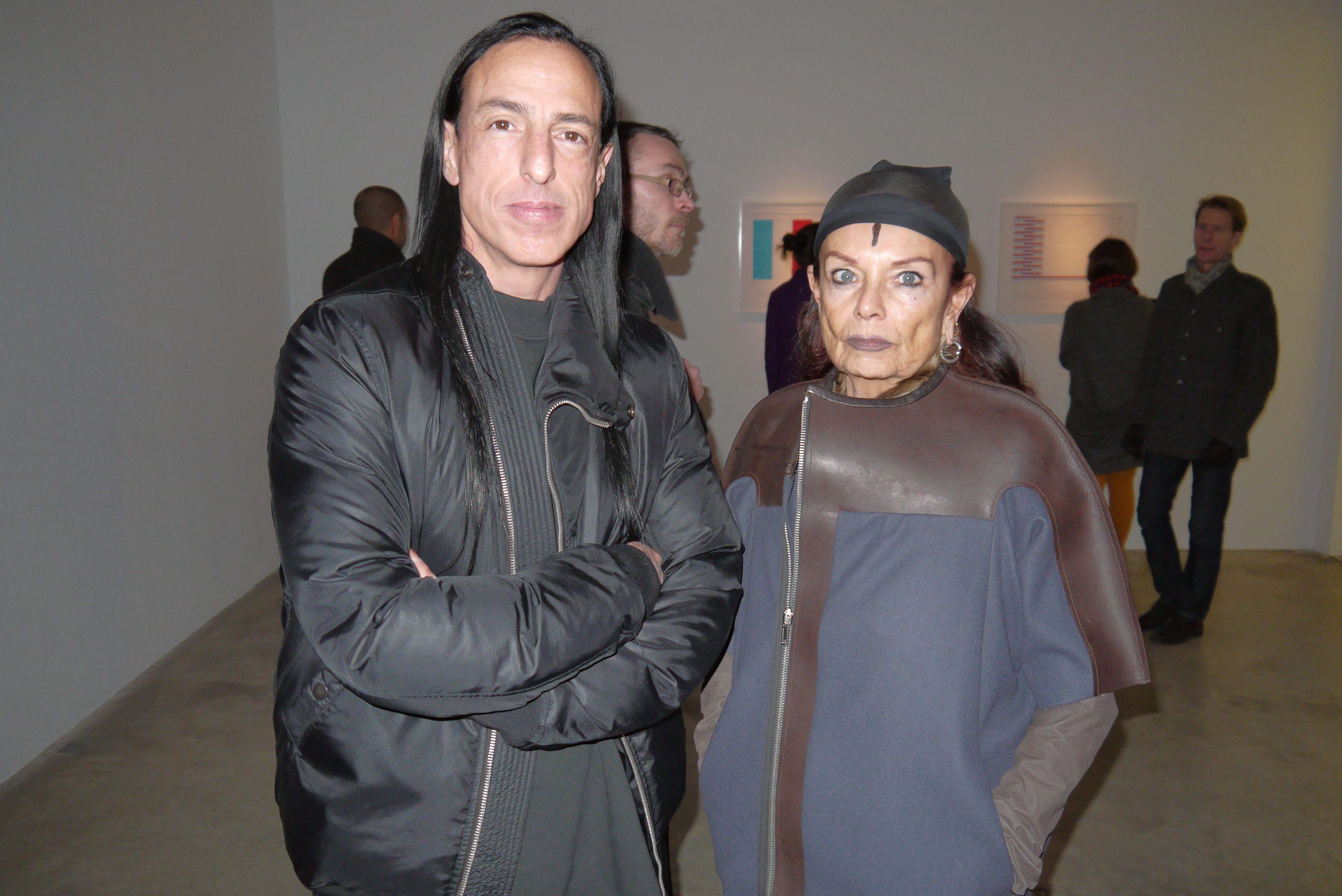 We Love Michèle Lamy Rick Owens Wife Gareth Pugh Advanced Style