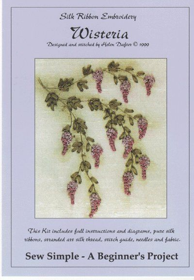 Silk Ribbon Embroidery Supplies Instructions Including A Stitch