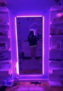 Edge LED Purple Lights