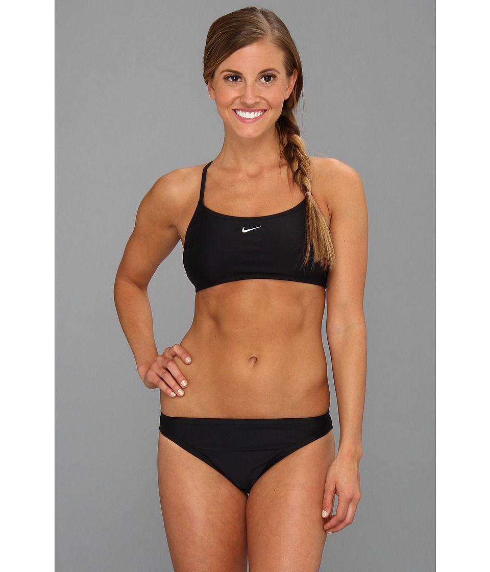 Nike Core Solids Sport 2-Piece. Nike Core Solids Sport 2-Piece Women's  Swimwear Sets Black