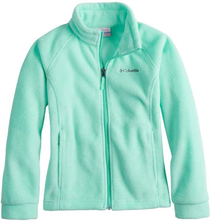 11915d2751b5 Girls 4-18 Columbia Three Lakes Lightweight Fleece Jacket Featuring ...