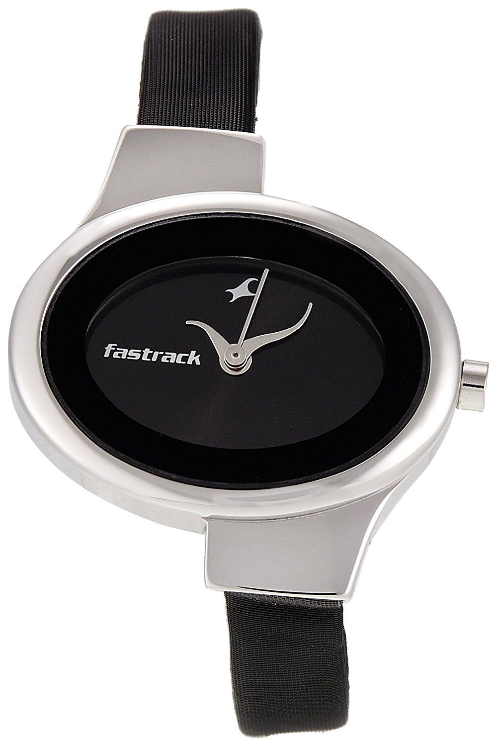 f0155fa3e Buy Fastrack Economy Analog Black Dial Women s Watch - NG6015SL02C Online  at Low Prices in India - Amazon.in