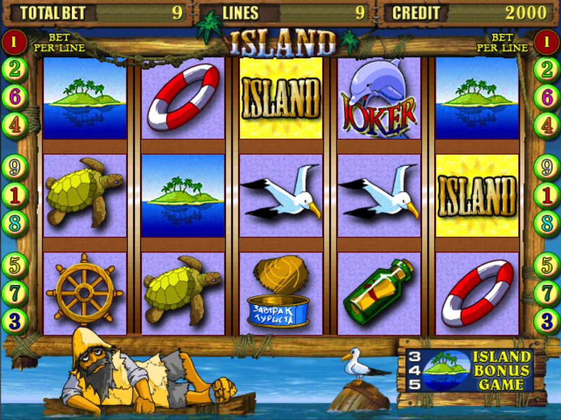 Играть в казино остров как играть в карты видео